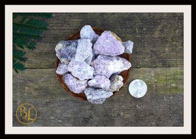 LEPIDOLITE Gemstone 3 Piece Set Healing Raw Lepidolite Crystal Set Rough Lepidolite Intention Stones Set Lithiotherapy Crystal Gemstone Set