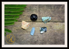 Load image into Gallery viewer, Number 1 ONE Gemstone Kit Numerology Gemstone Kit #1 Gemstone Set Healing Crystals Stone Intention Stones Lithiotherapy Number 1 Gemstones
