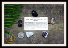Load image into Gallery viewer, Number 2 TWO Gemstone Kit Numerology Gemstone Kit #2 Gemstone Set Healing Crystals Stone Intention Stones Lithiotherapy Number 2 Gemstones
