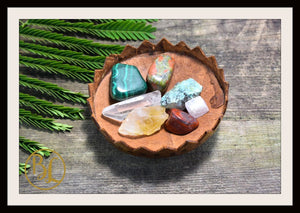 SCORPIO Gemstone Kit 7 Zodiac Scorpio Gemstones Set Healing Crystals Healing Zodiac Scorpio Intention Set Lithiotherapy Scorpio Stones Set
