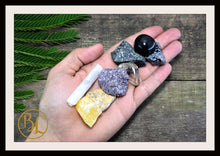Load image into Gallery viewer, Number 8 EIGHT Gemstone Kit Numerology Gemstone Kit #8 Gemstone Set Healing Crystals Stone Intention Stones Lithiotherapy Number 8 Gemstones