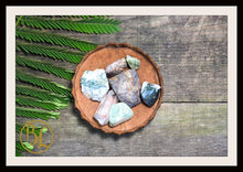 Load image into Gallery viewer, VIRGO Gemstone Kit 7 Zodiac Virgo Gemstones Set Healing Crystals Healing Zodiac Virgo Intention Set Lithiotherapy Virgo Crystals Stones Set