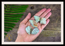 Load image into Gallery viewer, RAW RUBY In ZOISITE Gemstone 3 Piece Set Healing Ruby In Zoisite Crystal Kit Intention Stone Set Lithiotherapy Healing Ruby In Zoisite Set
