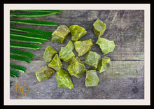 Load image into Gallery viewer, RAW GREEN OPAL Gemstone 3 Piece Set Healing Green Opal Crystal Kit Intention Stone Set Lithiotherapy Healing Raw Green Opal Set
