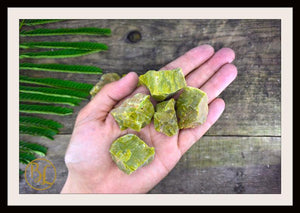 RAW GREEN OPAL Gemstone 3 Piece Set Healing Green Opal Crystal Kit Intention Stone Set Lithiotherapy Healing Raw Green Opal Set