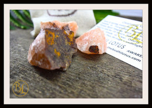 RAW RED AVENTURINE Gemstone 3 Piece Set Healing Raw Red Aventurine Crystal Kit Intention Stone Set Lithiotherapy Healing Raw Red Aventurine