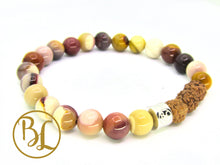 Load image into Gallery viewer, Genuine  Mookaite 925 Sterling Silver Bracelet Multicolor Mookaite Bracelet Gemstone