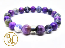 Load image into Gallery viewer, Autism Bracelet Gemstone Healing Gemstone Autism Bracelet Chaorite Sugilite Sodalite Bracelet