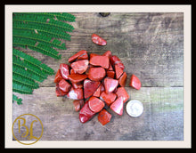Load image into Gallery viewer, RED JASPER Gemstone 3 Piece Set Red Jasper Crystal Kit Red Jasper Intention Set Lithiotherapy