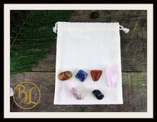 Load image into Gallery viewer, MULTIPLE SCLEROSIS Gemstone Kit 6 Healing M S Crystal Set Healing Crystals Stones Lithiotherapy