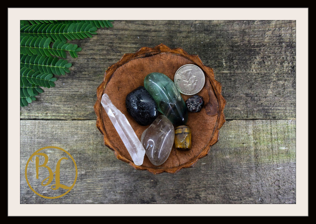 CAPRICORN Gemstone Kit 6 Zodiac Capricorn Healing Crystal Capricorn Intention Set Lithiotherapy