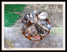 Load image into Gallery viewer, SMOKEY QUARTZ Gemstone 3 Piece Set Healing Smoky Quartz Crystal Kit Intention Lithiotherapy