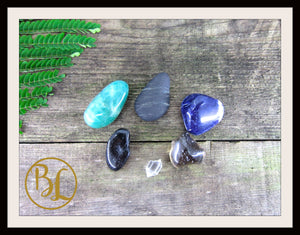 ELECTROMAGNETIC POLLUTION Gemstone 6 Healing Electromagnetic Pollution Intention Lithiotherapy