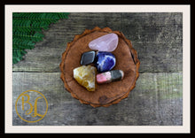 Load image into Gallery viewer, SELF ESTEEM Gemstone Kit 5 Healing Self Esteem Crystals Stone Set Intention Lithiotherapy