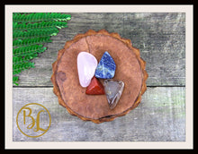 Load image into Gallery viewer, GRIEF Gemstone Kit 4 Healing Grief Gemstone Set Crystals Stone Grief Intention Stones Lithiotherapy