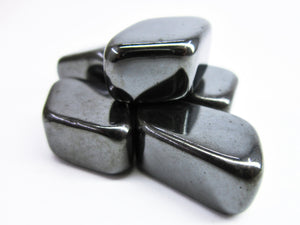 HEMATITE Gemstone 3Piece Set Healing Hematite Crystal Hematite Intention Hematite Lithiotherapy