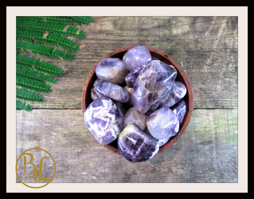 AMETHYST Gemstone 3 Piece Set Healing Amethyst Crystal Healing Amethyst Intention Lithiotherapy