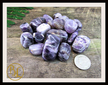 Load image into Gallery viewer, AMETHYST Gemstone 3 Piece Set Healing Amethyst Crystal Healing Amethyst Intention Lithiotherapy