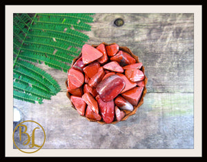 RED JASPER Gemstone 3 Piece Set Red Jasper Crystal Kit Red Jasper Intention Set Lithiotherapy