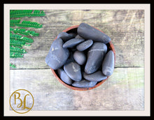 Load image into Gallery viewer, SHUNGITE Gemstone 3Piece Set Healing Shungite Crystal Kit Shungite Intention Set Lithiotherapy