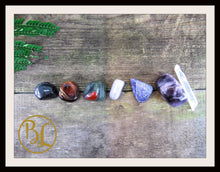 Load image into Gallery viewer, IMMUNE SYSTEM Gemstone Kit7 Healing Immune System Healing Immune System Intention Lithiotherapy