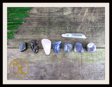 Load image into Gallery viewer, PAIN RELIEF Gemstone Kit Healing Pain Relief Gemstone Crystal Healing Intention Lithiotherapy