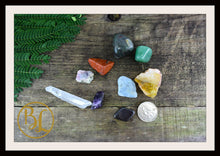 Load image into Gallery viewer, ARIES Gemstone Kit 9 Zodiac Aries  Set Healing Crystals Healing Aries Intention Lithiotherapy