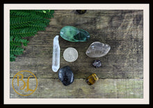 Load image into Gallery viewer, CAPRICORN Gemstone Kit 6 Zodiac Capricorn Healing Crystal Capricorn Intention Set Lithiotherapy