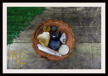 Load image into Gallery viewer, LEO Gemstone Kit 7 Zodiac Leo Gemstones Set Healing Crystals Zodiac Leo Intention Lithiotherapy