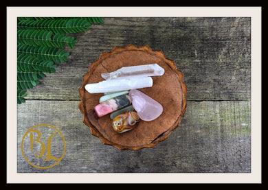 TAURUS Gemstone Kit 6 Zodiac Taurus Gemstone Set Healing Crystal Taurus Intention Lithiotherapy