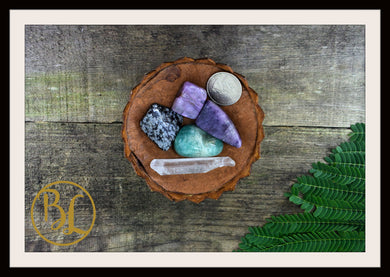 VIRGO Gemstone Kit 5 Zodiac Virgo Set Healing Crystals Healing Virgo Intention Lithiotherapy