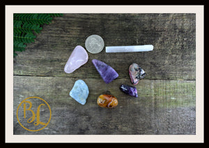 EMOTIONAL PEACE Gemstone Kit 7 Healing Emotional Peace Emotional Peace Intention Lithiotherapy