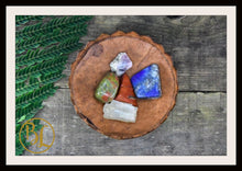 Load image into Gallery viewer, PREGNANCY Gemstone Kit 5 Pregnancy Stones & Crystals Pregnancy Crystals Intention Lithiotherapy