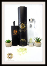 Load image into Gallery viewer, Jade Eau De Gemme  Gemstone Elixir Water Bottle  Jade Gemstone Water Bottle Jade