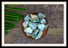 Load image into Gallery viewer, RAW TURQUOISE Gemstone 3 Piece Set Healing Turquoise Crystal Kit Raw Turquoise Intention Stone Set Lithiotherapy Healing Raw Turquoise Set