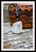 Load image into Gallery viewer, Smoky Quartz Pendant 2mm Leather Cord Choose your leather Cord Smoky Quartz Pendant Necklace Smoky Quartz Pendant  Smoky Quartz Necklace