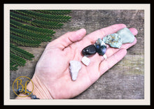 Load image into Gallery viewer, DEPRESSION Gemstone Kit 6 Healing Depression Gemstone Set Healing Crystals Stone Healing Depression Intention Stone Lithiotherapy Depression
