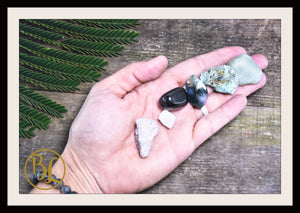 DEPRESSION Gemstone Kit 6 Healing Depression Gemstone Set Healing Crystals Stone Healing Depression Intention Stone Lithiotherapy Depression