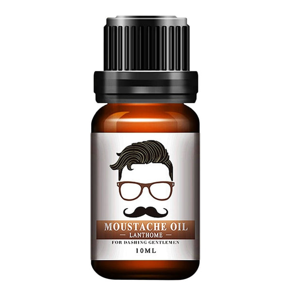 Natural Organic Moustache and Beard Oil