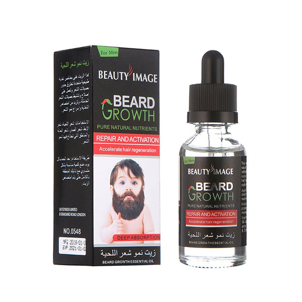 Beard & Mustache Growth Essence Oil
