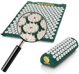 Nayoya Back and Neck Pain Relief - Acupressure Mat and Pillow Set