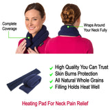 Sunny Bay: Microwavable Neck Heating Wrap