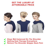 Sunny Bay: Microwavable Thermal Heating Pack for Upper Back, Neck & Shoulder Pain Relief