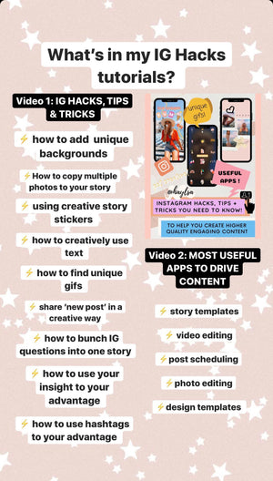 INSTAGRAM HACKS, TIPS & TRICKS GUIDE