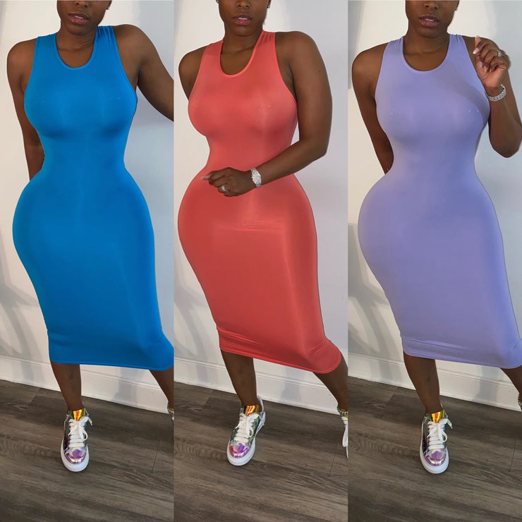 Day & Night Tank Midi Dress