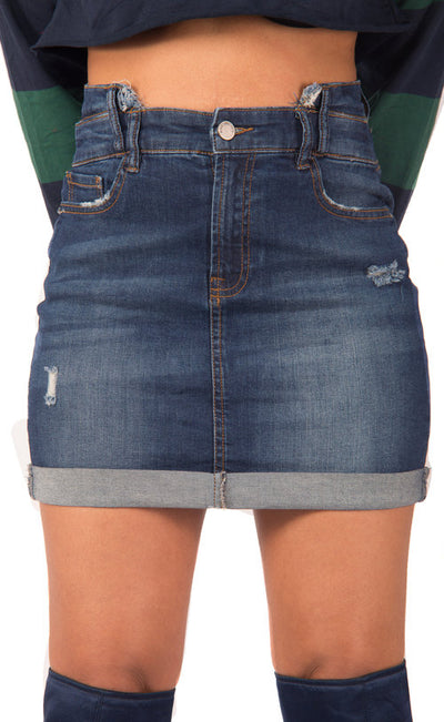 London Bridge Denim Skirt