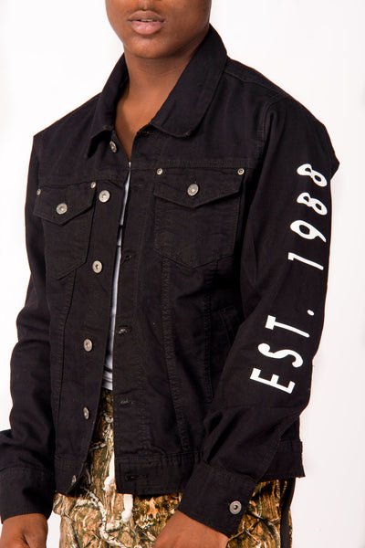 Ebony Denim Jacket