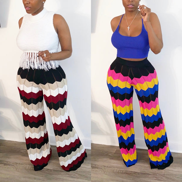 Knit Palazzo Pants (LIMITED RELEASE)