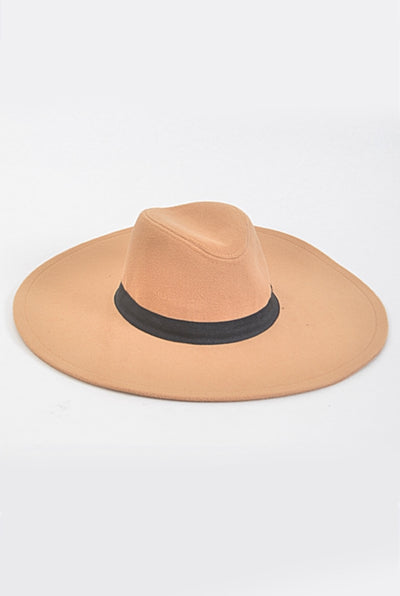 Oversized Brim Wool Hat (3 colors)