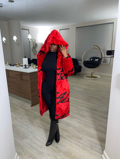 Little Red Riding Hood Fur Coat (Limited Release)